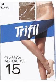 Meia Calça Trifil Adherence Feminina - Feminino-Bege