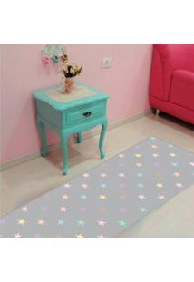 Passadeira Star Color Casa Dona Antiderrapante 0,66X2,40Cm