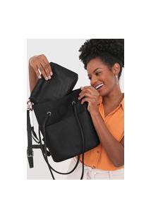 Bolsa Desigual Shopping Bag Lazarus Preta