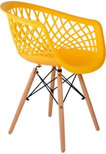 Cadeira Web Amarela