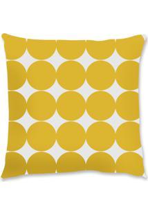 Capa De Almofada Renata Sader Lohm Amarela 45X45Cm - Amarelo - Dafiti