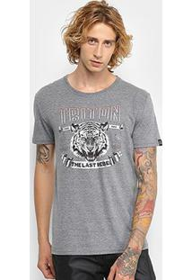 Camiseta Triton Estampa Tigre Masculina - Masculino