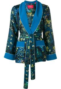 F.R.S For Restless Sleepers Blazer Floral - Azul