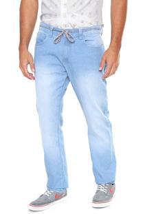 Calça Jeans Element Slim Delavê Ii Azul