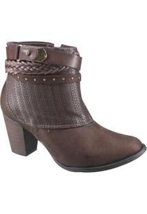 Bota Feminina Ankle Boot Ramarim
