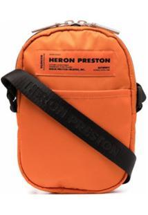 Heron Preston Bolsa Transversal - Laranja