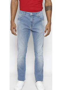 Jeans Alexandre Com Bolsos - Azul Claroforum