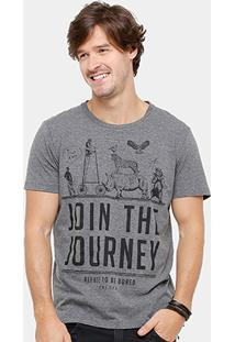 Camiseta Colcci Join The Journey Masculina - Masculino