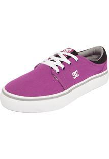 Tênis Dc Shoes Trase Tx Roxo