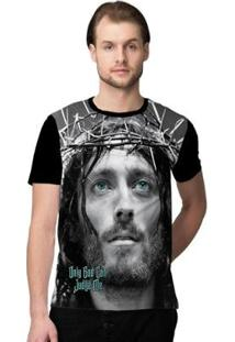 Camiseta Stompy God Masculina - Masculino-Preto