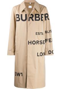 b4edddea83 ... Burberry Trench Coat Horseferry Com Logo - Neutro