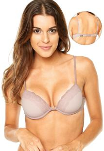 Sutiã Marcyn New Push-Up Make Bege