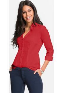 b07af0f11d Camisa Bonprix Elastano feminina