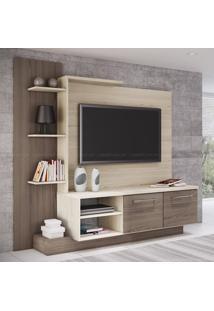 Estante Home Theater Para Tv Até 52 Polegadas Es110 Bali/Bancoc - Decibal