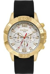 Relógio Condor Civic Masculino - Masculino-Preto