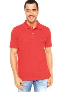 Camisa Polo Mr. Kitsch Vauvert Vermelha