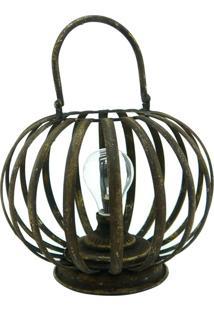 Luminária Vintage De Mesa Led Kasa Ideia