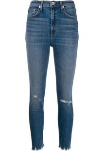 Rag & Bone Calça Jeans Skinny Vernon - Azul