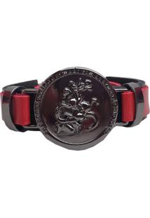 Pulseira Bracelete São Jorge. - Kanui