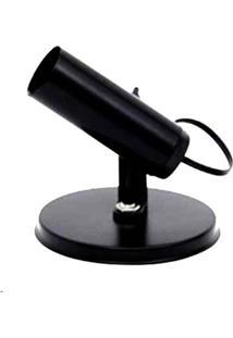 Spot Tubinho Simples Preto - Sp1695/1 - Kin Light - Kin Light