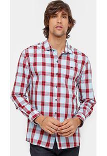Camisa Xadrez Ellus Quadriculada Masculina - Masculino