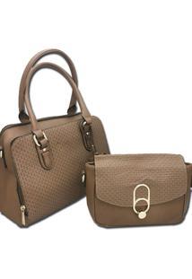 Bolsa Importada Transversal Sys Fashion 2730 Caramelo