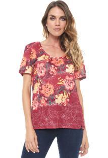 ec1d28df74 Camiseta Cantao Marsala feminina