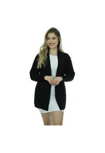 Casaco Tricot Napoli Shopping Do Tricô Cardigan Suéter
