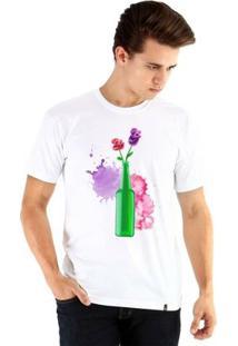 Camiseta Ouroboros Manga Curta Garrafamor Masculina - Masculino