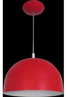 Pendente Color Dome Vermelho Attena