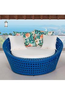 Chaise Caribe - Metal Do Brasil - Azul