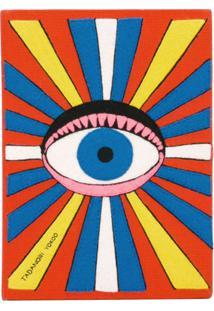 Olympia Le-Tan Clutch 'Eye Book' - Laranja