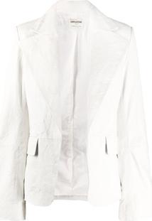 Zadig&Voltaire Jaqueta Fashion Show Vichy - Branco
