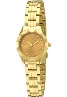 Relógio Condor Feminino Mini Co2035Kpb/4L - Co2035Kpb/4L - Feminino-Dourado