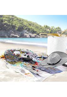 Toalha De Praia / Banho Face Color