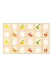 Adesivo De Azulejo - Frutas Retrô - 029Az-G