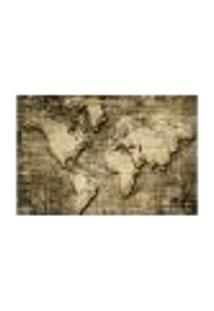 Painel Adesivo De Parede - Mapa Mundi - Mundo - 842Pnm