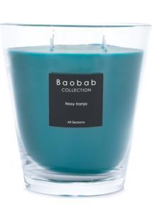 Baobab Collection Nosy Iranja Candle - Azul
