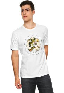 Camiseta Rusty Feer Supply Branca