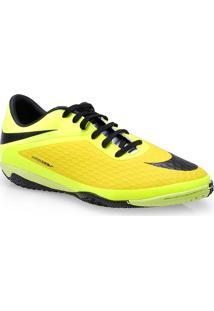 Tenis Masc Nike 599849-700 Hypervenom Phelon Ic Limao/Amarelo/Preto