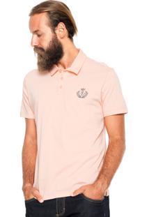 Camisa Polo Forum Custom Coral