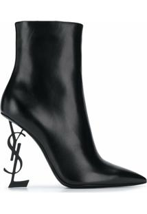 Saint Laurent Ankle Boot Opyum 110 - Preto