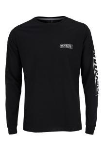 Camiseta Manga Longa O'Neill Teamste - Masculina - Preto