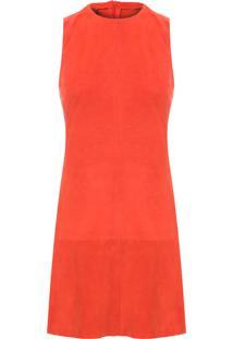 Vestido Chamois Basic - Laranja
