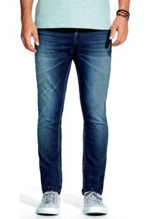 Calça De Moletom Jeans Masculina Super Skinny Hering