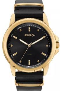 3595811aa72 ... Relógio Feminino Euro Eu2035Ynn 4P Pulseira De Couro - Feminino