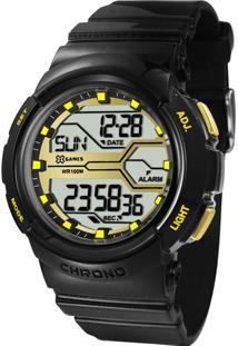 163a306ce99 E Clock. Relógio Feminino Tamanho Grande Digital Orient ...
