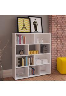 Estante Para Livros Style Book Branco - Artely