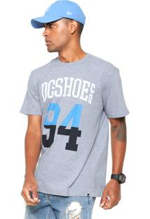 Camiseta Dc Shoes Byrdie Cinza