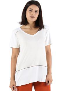 T-Shirt It'S & Co Renne Off-White - Off-White - Feminino - Dafiti
